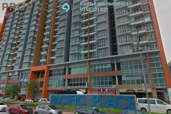 For Rent Condominium at Pacific Place, Ara Damansara Freehold Fully Furnished 1R/1B 1.6k