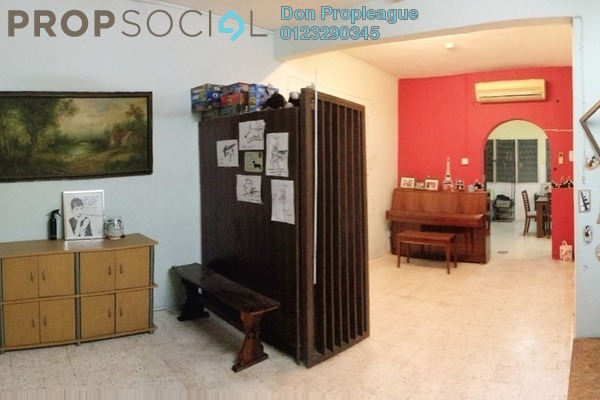 For Sale Terrace at Taman Mayang, Kelana Jaya Freehold Semi Furnished 4R/3B 765k