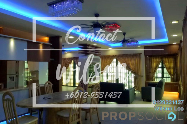 For Sale Condominium at Changkat View, Dutamas Freehold Fully Furnished 4R/3B 980k