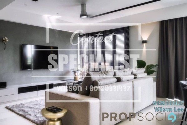 For Sale Condominium at Lakeville Residence, Jalan Ipoh Freehold Semi Furnished 3R/2B 615k
