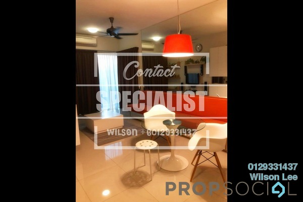 For Sale Condominium at Dex @ Kiara East, Jalan Ipoh Freehold Fully Furnished 2R/1B 455k
