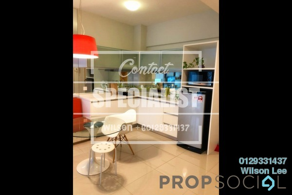 For Sale Condominium at Dex @ Kiara East, Jalan Ipoh Freehold Fully Furnished 2R/1B 598k
