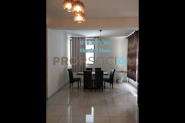 For Sale Condominium at The Z Residence, Bukit Jalil Freehold Semi Furnished 3R/2B 690k