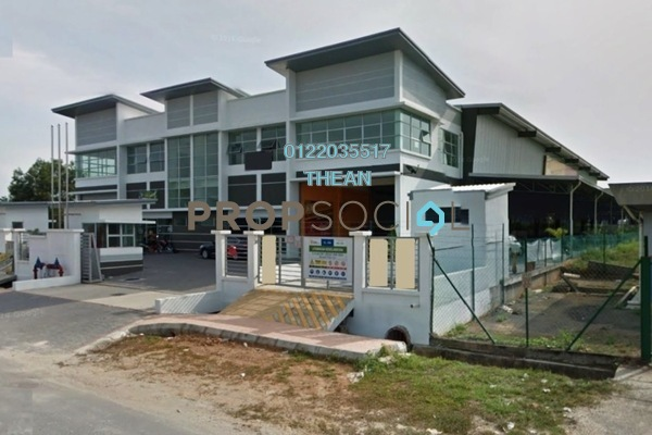 For Rent Factory at Alam Jaya Industrial Park, Kuala Selangor Freehold Unfurnished 0R/0B 23k