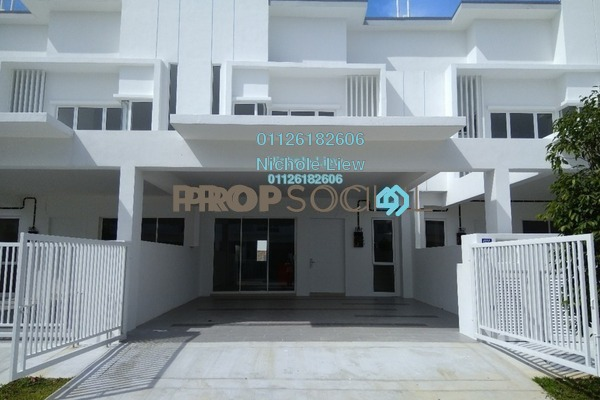 For Sale Superlink at Suriaman 3, Bandar Sri Sendayan Freehold Unfurnished 4R/4B 599k