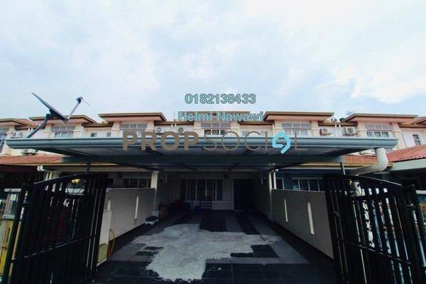 For Sale Terrace at Bandar Parklands, Klang Freehold Semi Furnished 4R/4B 550k