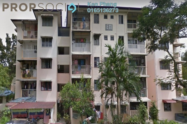 For Rent Apartment at Section 2, Wangsa Maju Freehold Fully Furnished 3R/2B 1.3k