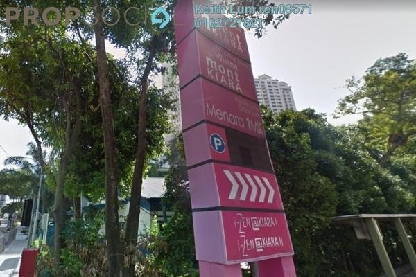 For Rent Condominium at i-Zen Kiara I, Mont Kiara Freehold Fully Furnished 3R/2B 4.5k