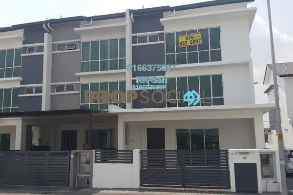 For Sale Terrace at Taman Sejati 5, Klang Freehold Semi Furnished 5R/5B 730k