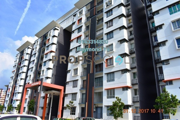 For Sale Apartment at Seri Kasturi, Setia Alam Leasehold Unfurnished 3R/2B 259k