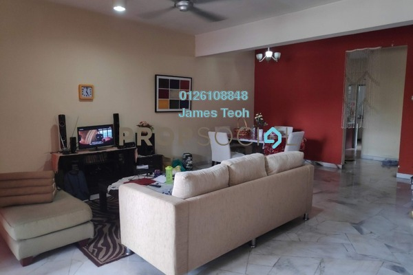 For Sale Terrace at Berjaya Park, Shah Alam Freehold Semi Furnished 4R/3B 465k