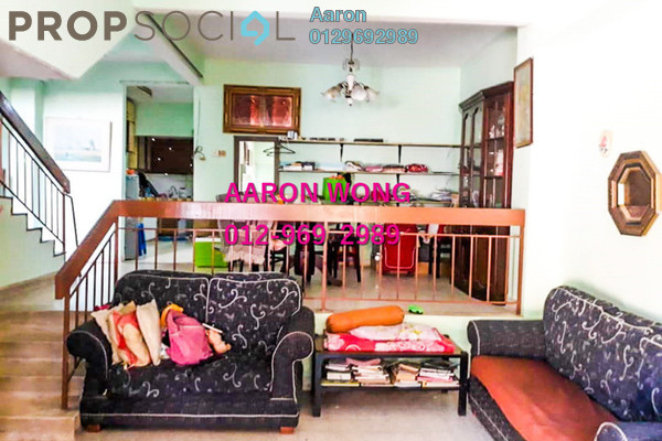 For Sale Terrace at Taman Mudun, Batu 9 Cheras Freehold Semi Furnished 4R/3B 490k