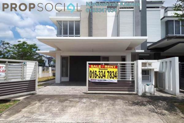 For Sale Terrace at Sephira, Alam Impian Freehold Unfurnished 4R/5B 1.1m
