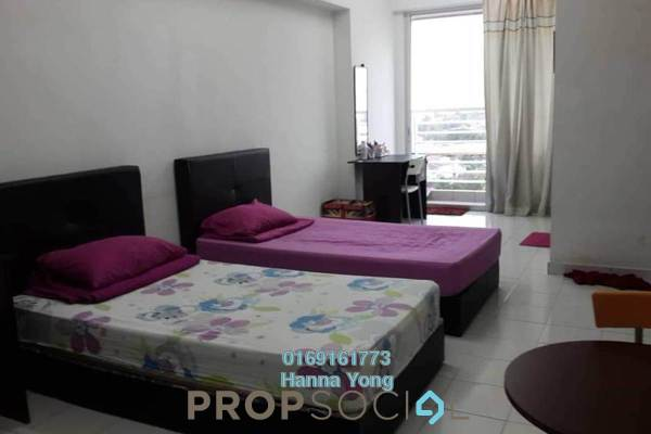 For Sale SoHo/Studio at Menara Rajawali, Subang Jaya Leasehold Fully Furnished 0R/1B 360k