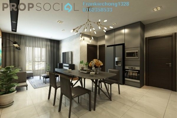 For Sale Condominium at Residensi Berlian, Setapak Freehold Unfurnished 3R/2B 485k