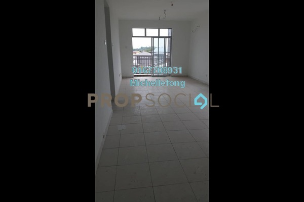 For Sale Serviced Residence at Scott Towers, Johor Bahru Leasehold Unfurnished 3R/2B 320k