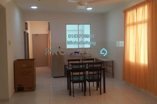 For Rent Serviced Residence at Scott Towers, Johor Bahru Freehold Semi Furnished 3R/2B 1.4k