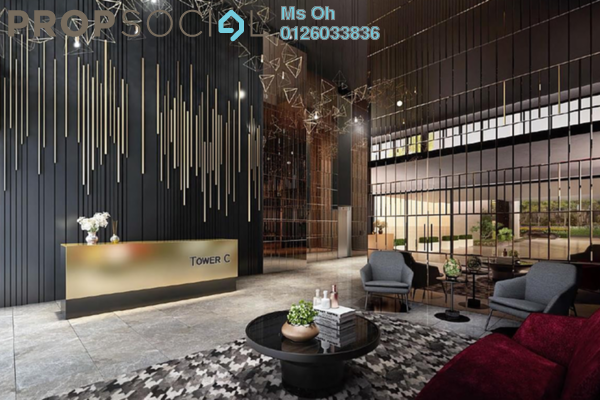 For Sale Serviced Residence at Trion @ KL, Kuala Lumpur Freehold Semi Furnished 2R/2B 645k