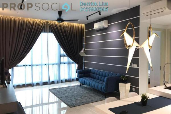 For Rent Condominium at Vogue Suites One @ KL Eco City, Mid Valley City Freehold Fully Furnished 2R/2B 4.2k