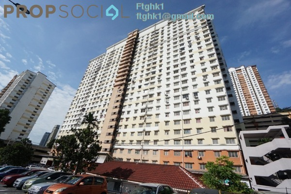 For Sale Apartment at Flora Damansara, Damansara Perdana Freehold Unfurnished 3R/2B 188k