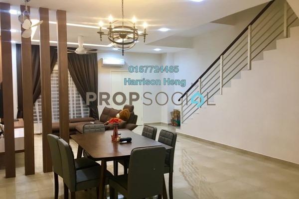 For Sale Terrace at Nusa Sentral, Iskandar Puteri (Nusajaya) Freehold Fully Furnished 4R/3B 610k
