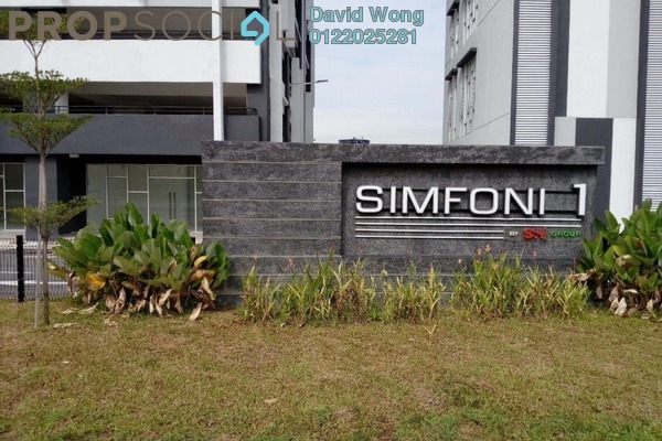 For Rent Condominium at Symphony Residence, Kajang Freehold Semi Furnished 3R/2B 1.2k