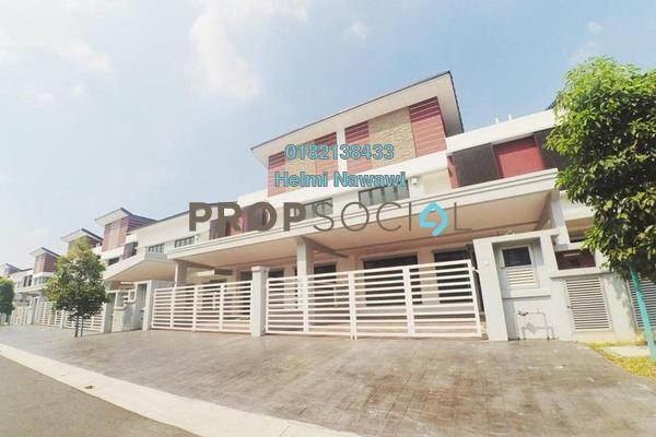 For Sale Terrace at Anggun 2, Setia Alam Freehold Unfurnished 4R/5B 899k