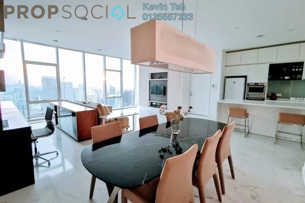 For Rent Condominium at Platinum Suites, KLCC Freehold Fully Furnished 3R/2B 12k