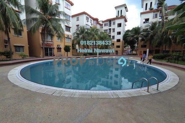 For Sale Condominium at Jaya Apartment, TTDI Jaya Freehold Semi Furnished 3R/2B 300k
