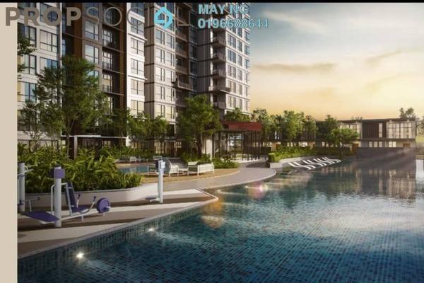 For Sale Condominium at Henna Residence @ The Quartz, Wangsa Maju Freehold Semi Furnished 2R/1B 360k