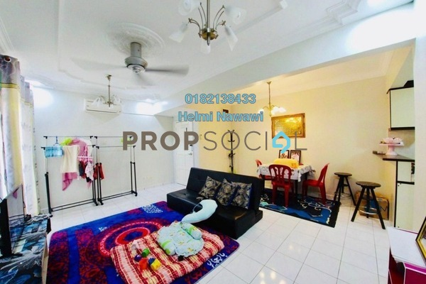 For Sale Apartment at Sri Puteri Apartment, Ukay Freehold Semi Furnished 3R/2B 270k