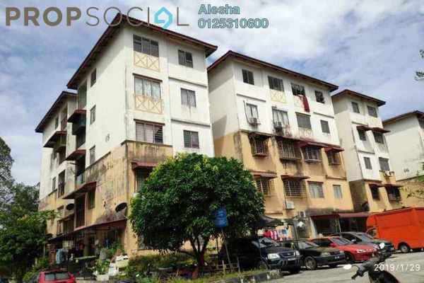 For Sale Apartment at Sri Indah Apartment, Bandar Putra Permai Freehold Unfurnished 0R/0B 64.8k