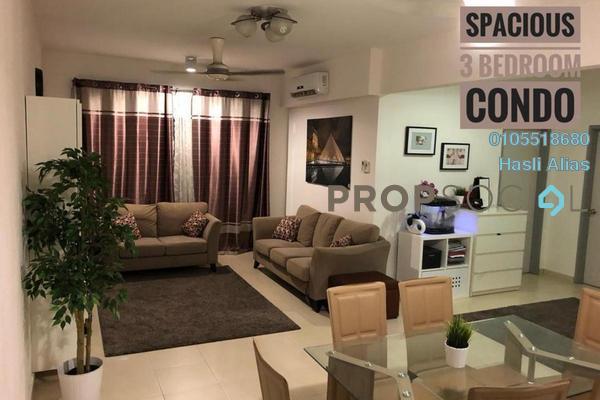 For Sale Condominium at Semarak Condominium, Batu Caves Leasehold Semi Furnished 3R/2B 365k