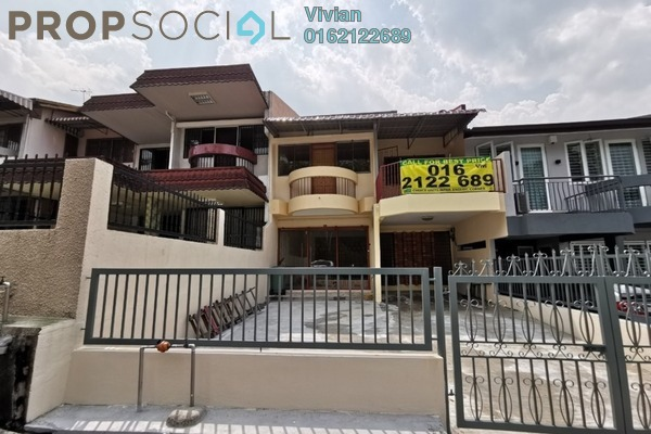 For Rent Terrace at Taman Connaught, Cheras Freehold Unfurnished 5R/3B 1.75k
