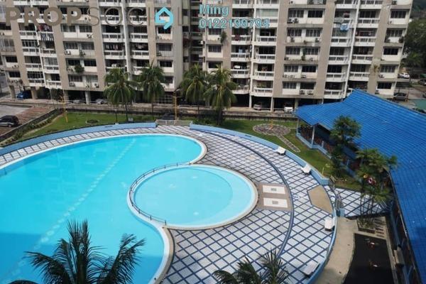 For Rent Condominium at Petaling Indah, Sungai Besi Freehold Semi Furnished 2R/2B 850translationmissing:en.pricing.unit
