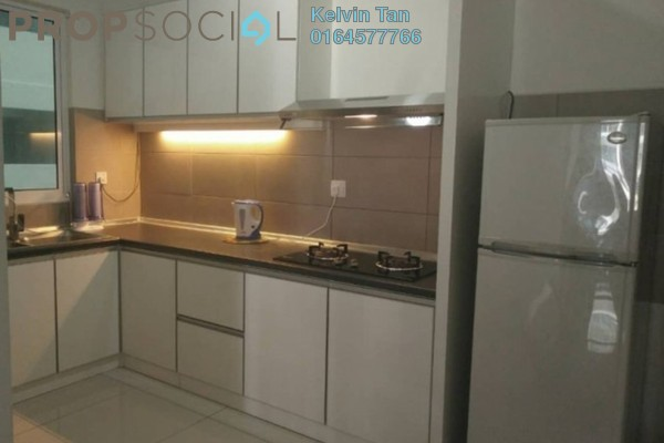 For Rent Condominium at Gardens Ville, Sungai Ara Freehold Fully Furnished 3R/2B 1.5k