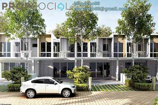 For Rent Terrace at Symphony Hills, Cyberjaya Freehold Semi Furnished 4R/3B 1.8k
