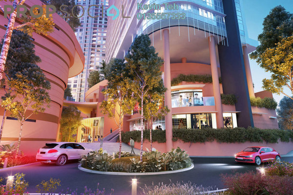 For Rent Condominium at Kiara 163, Mont Kiara Freehold Unfurnished 1R/1B 3k