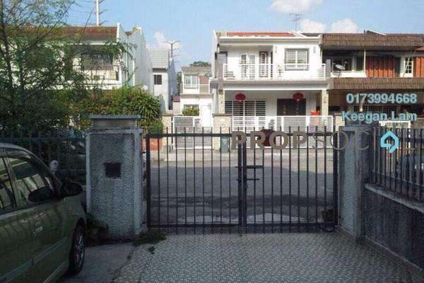 For Sale Terrace at Taman Connaught, Cheras Freehold Semi Furnished 4R/3B 650k