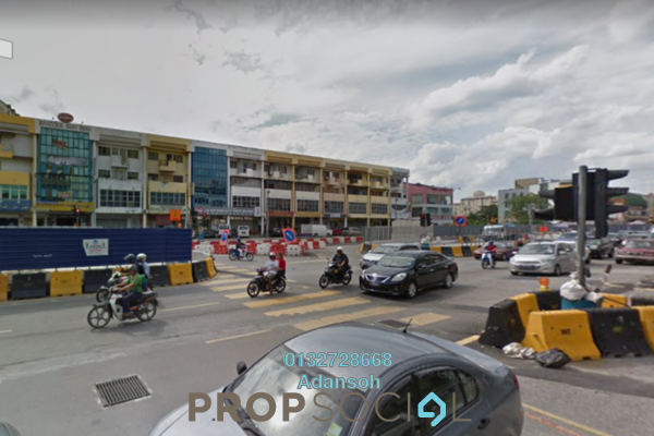 For Sale Shop at Taman Kok Lian, Jalan Ipoh Freehold Semi Furnished 0R/0B 3.3m