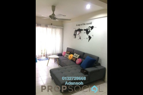 For Sale Condominium at Fortune Avenue, Kepong Freehold Semi Furnished 3R/2B 450k