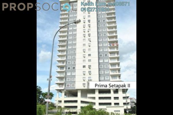 For Sale Condominium at Prima Setapak II, Setapak Freehold Fully Furnished 3R/2B 700k