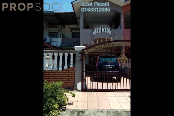 For Sale Terrace at Taman Megah, Seremban Freehold Semi Furnished 4R/3B 380k