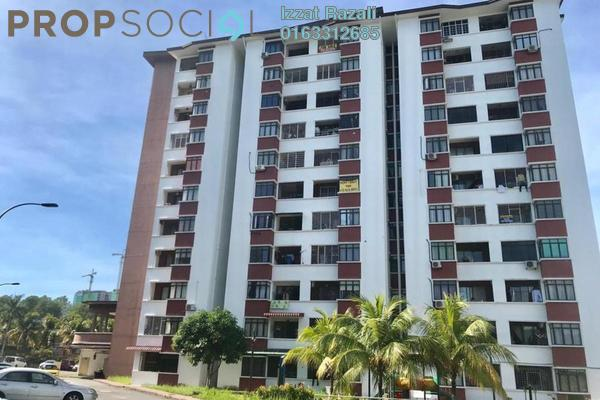 For Rent Apartment at Anggerik Apartment, Kajang Freehold Semi Furnished 3R/2B 1k