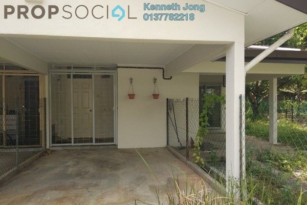 For Sale Townhouse at Sungai Congkak, Bukit Rimau Freehold Semi Furnished 3R/2B 419k