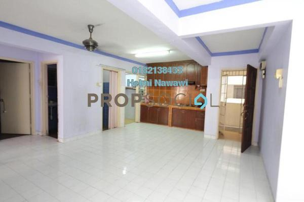 For Sale Apartment at Desa Dua, Kepong Freehold Semi Furnished 3R/2B 250k