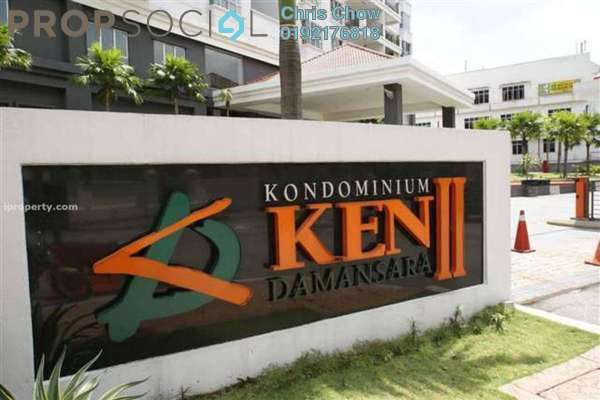 For Sale Condominium at Ken Damansara II, Petaling Jaya Freehold Semi Furnished 3R/2B 950k