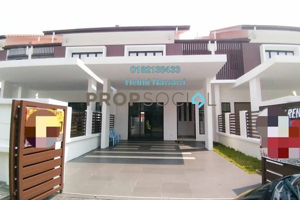 For Sale Terrace at Pentas, Alam Impian Freehold Unfurnished 4R/3B 770k