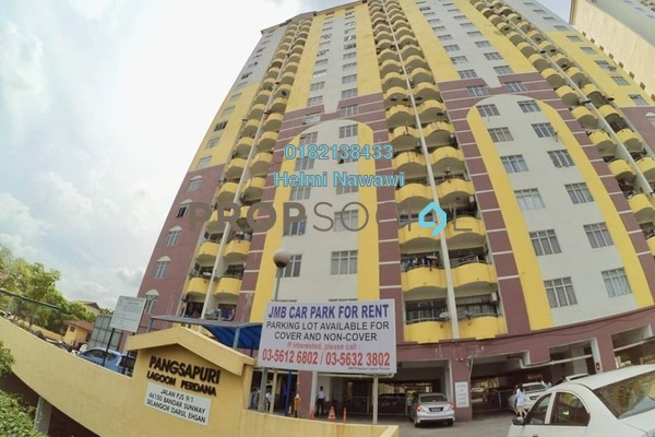 For Sale Condominium at Lagoon Perdana, Bandar Sunway Freehold Semi Furnished 3R/2B 220k