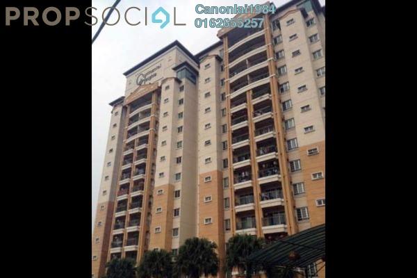 For Sale Condominium at Continental Heights, Kuchai Lama Freehold Semi Furnished 3R/4B 800k